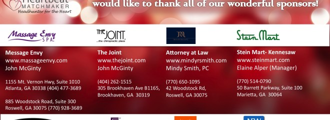Atlanta Matchmaker Holiday Love thank you
